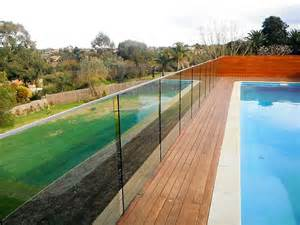 See through pool fence with privacy pool fence glass pool fencing