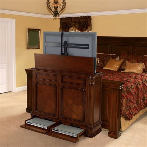 End Of Bed Tv Lift Cabinets For Flat Screens 5674 by End Of Bed Tv Lift Cabinets For Flat Screens