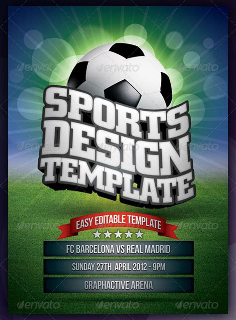 free templates for football posters top 20 soccer football flyer templates 56pixels com