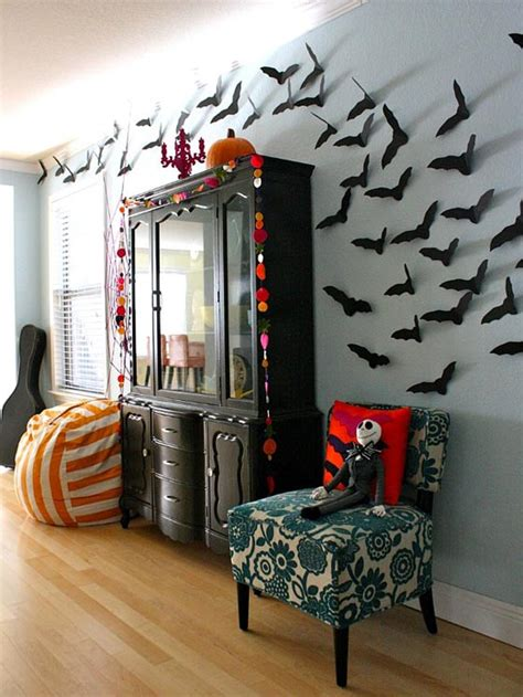 decorate your home for halloween 34 halloween home decore ideas inspirationseek com