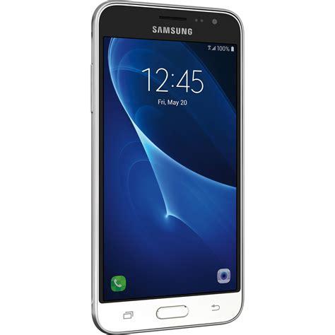 samsung galaxy j3 j320 16gb smartphone sm j320azwaxar b h photo