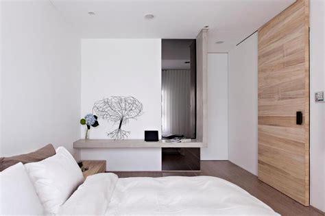 white and wood bedroom white wood concrete bedroom olpos design