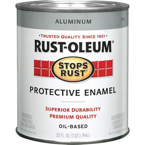 rust oleum aluminum enamel 7715502