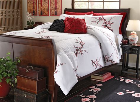 japanese bedding asian cherry blossom bedroom comforter ebay