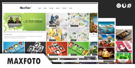 html5 photo gallery template free maxfoto clean gallery html5 template by thana themeforest