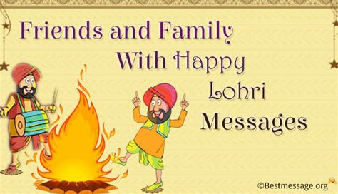 messages for friends and family happy lohri 2018 wishes messages to family and friends