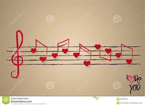 imagenes de notas musicales en forma de corazon partitura con las notas musicales en forma de coraz 243 n