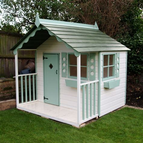 Handmade Wooden Playhouse - chalet playhouse wooden children s cottage solid wood