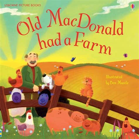 if my books had pictures macdonald had a farm at usborne children s books