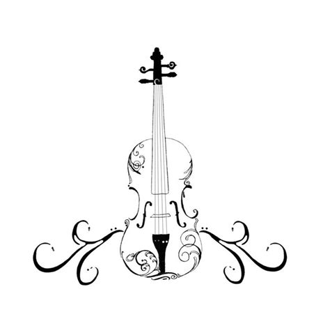 violin tattoo designs pin by barrow on bad tatts