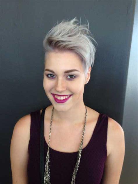 cool asymmetrical pixie cut pics short hairstyles    popular short