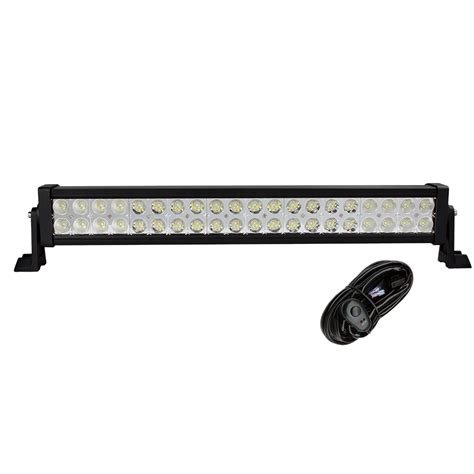 Led Light Bars For Vehicles Weketory 22 Inch 120w Led Light Bar For Work Driving Boat