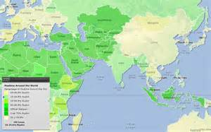 Islamic World Map by Gallery For Gt Muslim World Map
