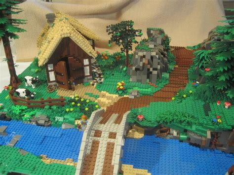 scheune mittelalter re mittelalter bauernhaus lego bei 1000steine de