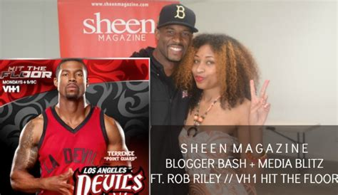 celeb spotlight rob riley of vh1 s hit the floor sheen