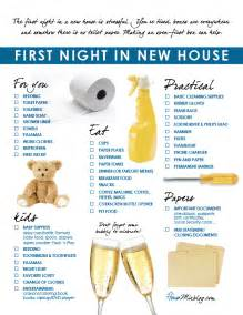 moving into first house checklist moving part 5 family s first night in new house checklist