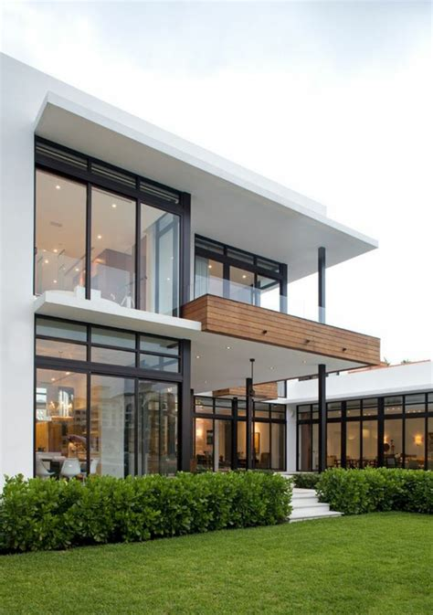 adorable great modern glass house exterior designs maison contemporaine de standing situ 233 e en floride