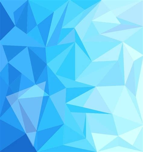 abstract blue pattern vector blue low poly design abstract background vector