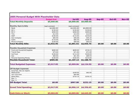 spending plan template spending plan worksheet excel buff