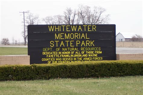 whitewater state park liberty indiana cing