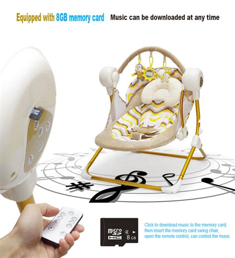 electric swing music brand cradle electric baby swing music rocking chair