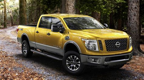 nissan turbo diesel 2016 nissan titan xd pick up for the us debuts cummins