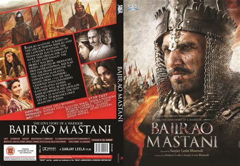 Dvd India Bajirao Mastani 2015 new dvd covers