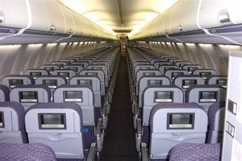 United Airlines 757 Interior by Boeing 757 300 Seating Car Interior Design