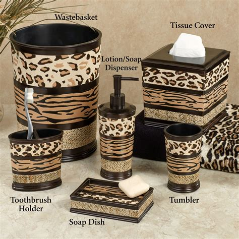 Awesome leopard print bathroom decor 6 leopard print bathroom