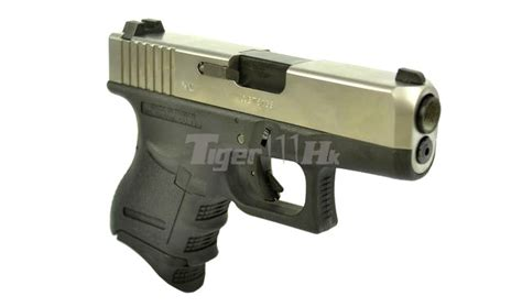 Airsoft Masterpiece Steel Frame Sv Silver we metal slide g26 gbb pistol auto ver silver airsoft tiger111hk area