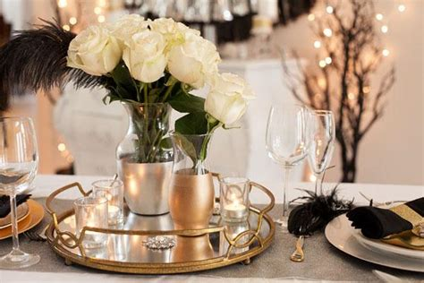 Western Dining Room Tables a sophisticated new year s eve elegant centerpieces