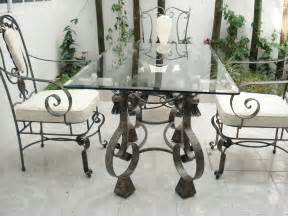 Round Patio Dining Sets by Wrought Iron Furniture For Your Garden Landscaping