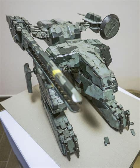 Metal Gear Rex Papercraft - mecha threea toys metal gear solid rex open box images