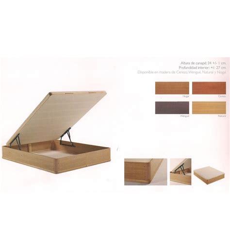 dise o de camas de madera canap 233 abatible aspol dise 241 o madera colchones buen