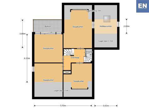 Online Floorplanner basis plattegrond woning en vastgoed vision