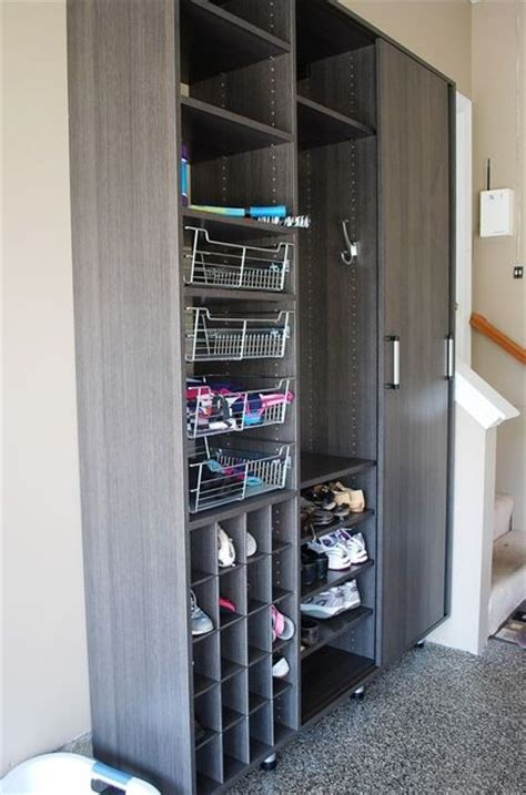 shoe storage in garage shoe storage the garage door is the entrance in many