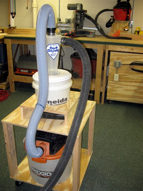 woodworking cyclone dust deputy deluxe kit review
