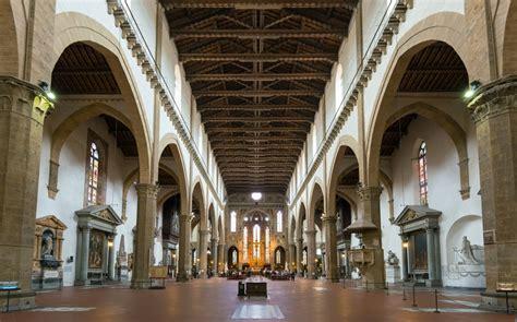 santa croce interno la basilica di santa croce a firenze bellezza