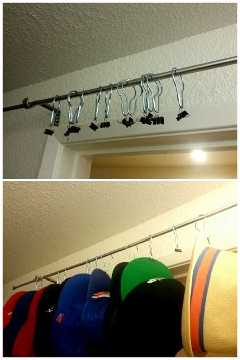 1000 ideas about baseball hat racks on cap