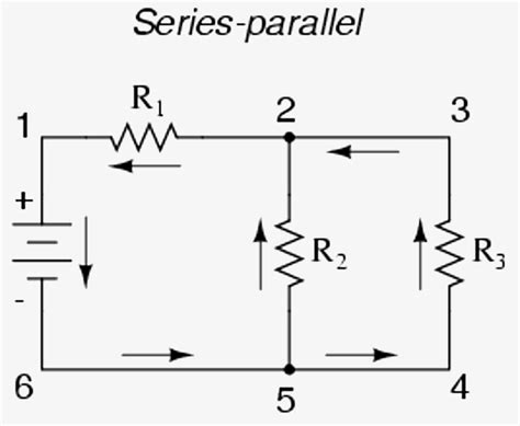 series and parallel circuits diagrams wiring diagram