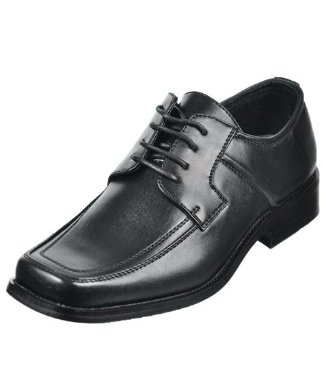 youth dress shoes goodfellas square toe dress shoes boys youth sizes 13 3 ebay