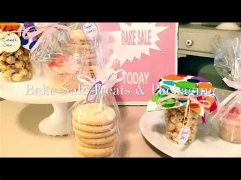 Sale Packing bake sale treats packing how to package treats for a