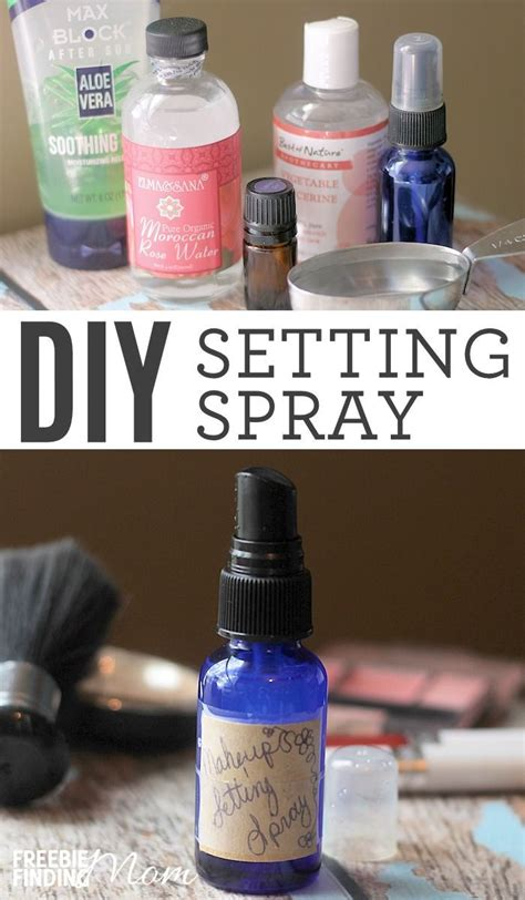 diy makeup setting spray aloe vera m 225 s de 25 ideas incre 237 bles sobre ajustes de spray en