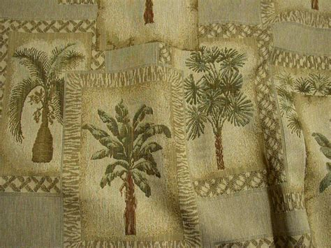 palm tree upholstery fabric desert shade palm tree tapestry upholstery fabric 4y