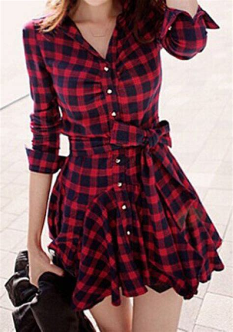 Tartan Ruffle Jumpsuit Size S plaid tartan vintage chess single breasted ruffle belt