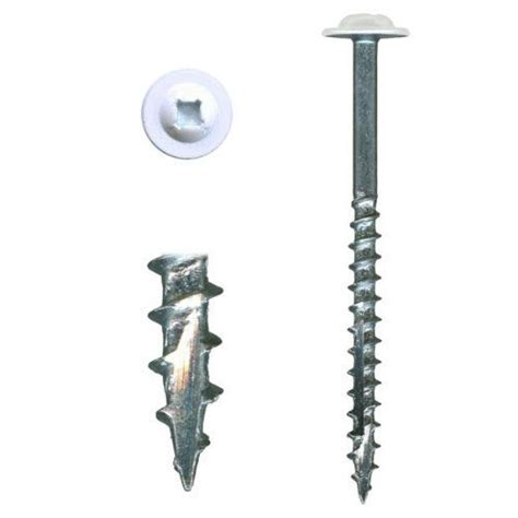 What Screws To Use For Hanging Cabinets by 10 X 2 1 2 Highpoint Cabinet Installation Screws Washer