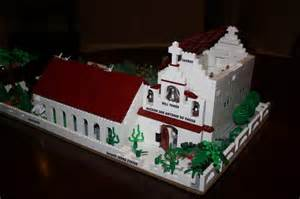California mission project a lego 174 creation by dan burke mocpages