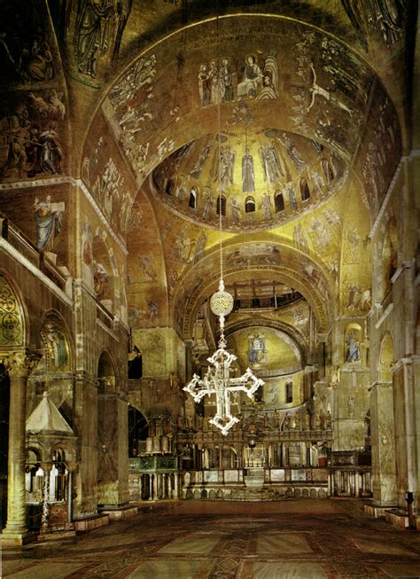 basilica di san marco interno file interno della basilica di san marco venezia jpg