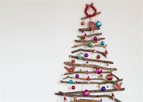 ufficio postale cosiero create a festive feature wall with a twig tree