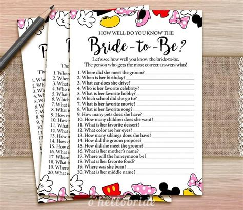 theme wedding quiz 90 bridal shower games how well do you know the bride